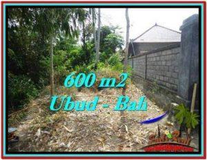 UBUD BALI 600 m2 LAND FOR SALE TJUB523