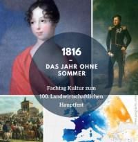 1816- Das Jahr ohne Sommer