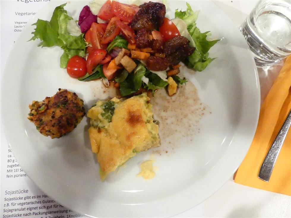 vegetarische Vorspeise