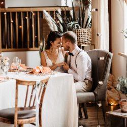 Raumgestaltung Hochzeit Dekoration