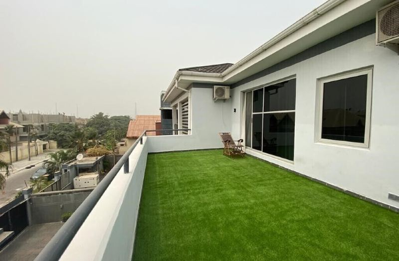 Example of a penthouse in Nigeria