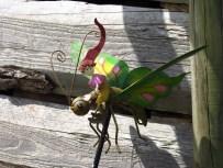 Elfe auf Schmetterling