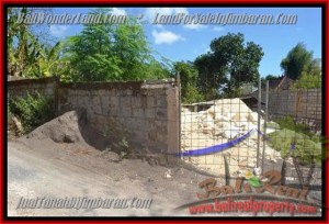 Affordable Jimbaran Ungasan BALI 200 m2 LAND FOR SALE TJJI081