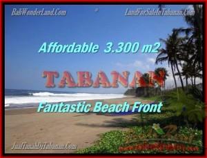 FOR SALE 3.300 m2 LAND IN TABANAN TJTB157