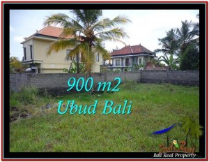 Magnificent PROPERTY Ubud Tampak Siring 900 m2 LAND FOR SALE TJUB532