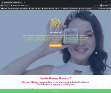 skincare LP Web ID