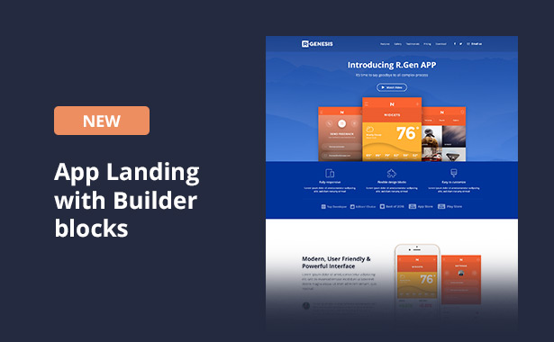 RGen   HTML Landing Pages with Builder - 22