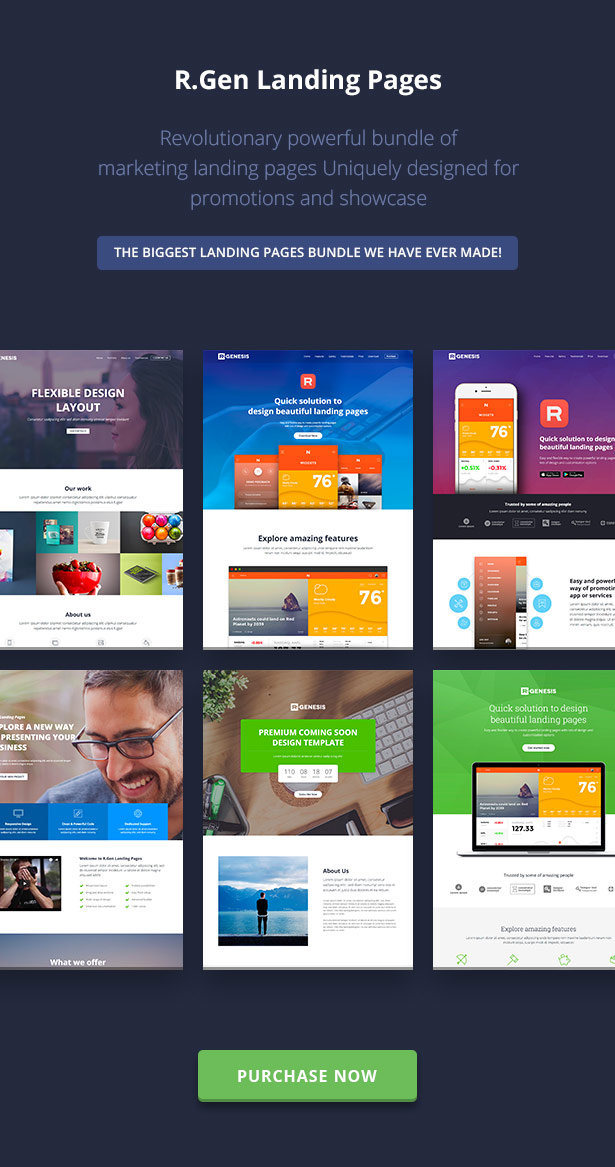 RGen   HTML Landing Pages with Builder - 25