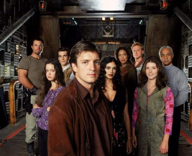 Firefly scifi series