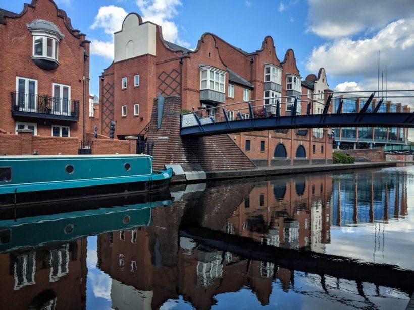 Canal view Birmingham