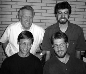Wes Jackson, Christopher Picone, David Van Tassel and Stan Cox (clockwise from top left)