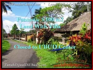 Beautiful 5,100 m2 LAND IN UBUD BALI FOR SALE TJUB468