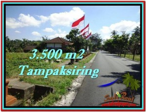 FOR SALE Exotic 3,500 m2 LAND IN UBUD TJUB517