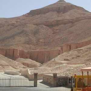 Valley of the Kings in Luxor. Photo from the historical excursion to Luxor - Valley of the Kings from Hurghada