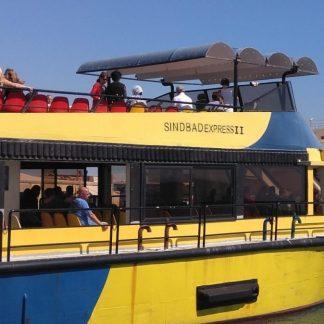 экскурсия на подводную лодку синдбад в хургаде : туристы на яхте до подводной лодки