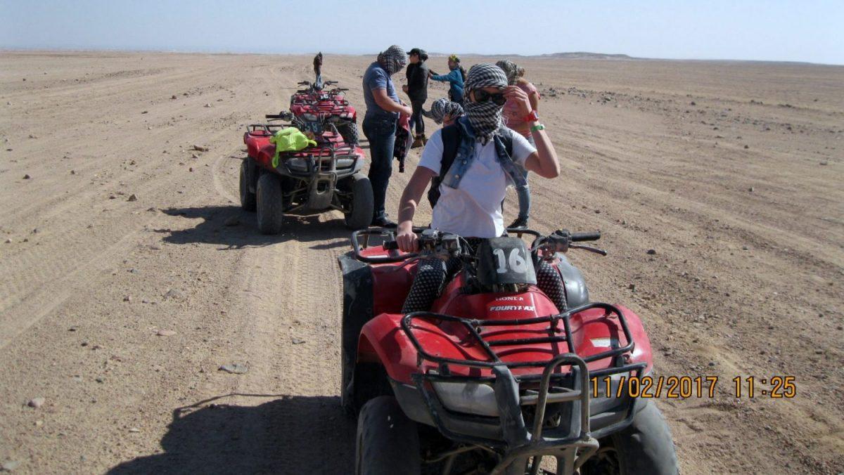 Three-hour Moto-Safari in Sharm El Sheikh