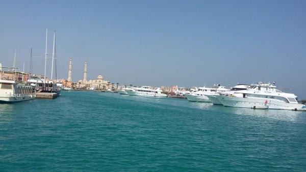 La marina d'Hurghada