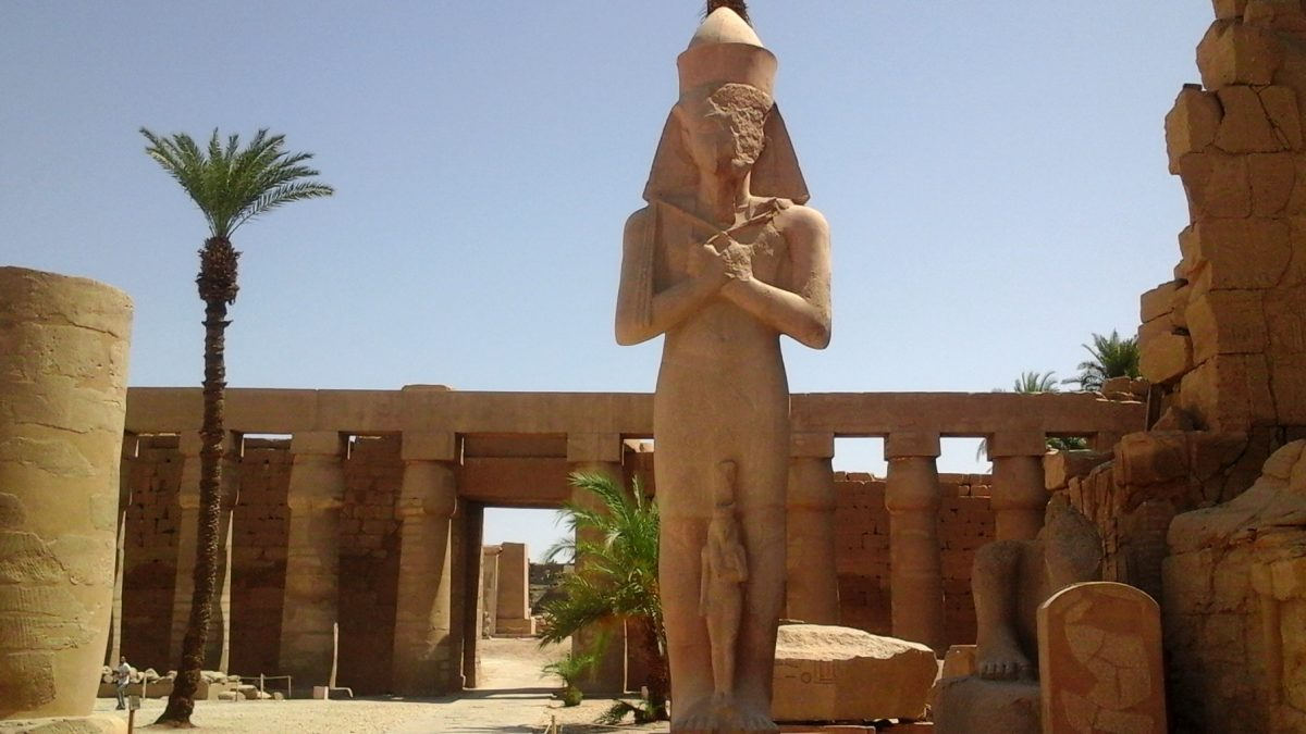 Temple of Karnak in Luxor