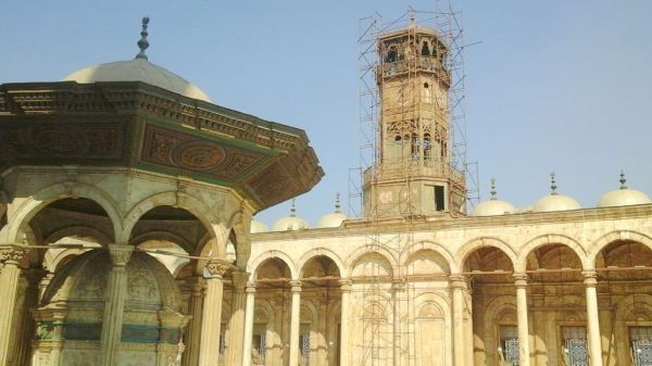 The Citadel of Saladin in Cairo