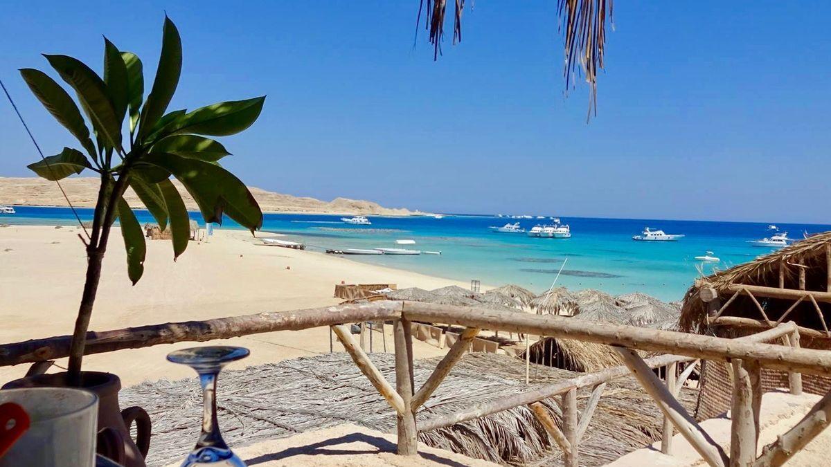 Mahmya beach on Giftun island