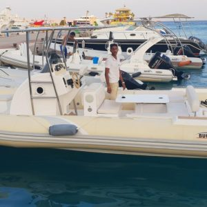 Private Speedboat to Orange Bay in Hurghada