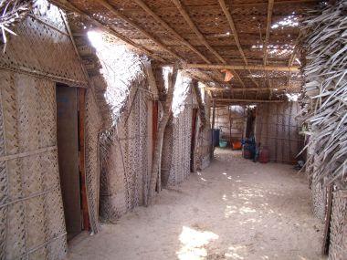 Om Shri Cafe beach huts ~ Gokarna ~ India