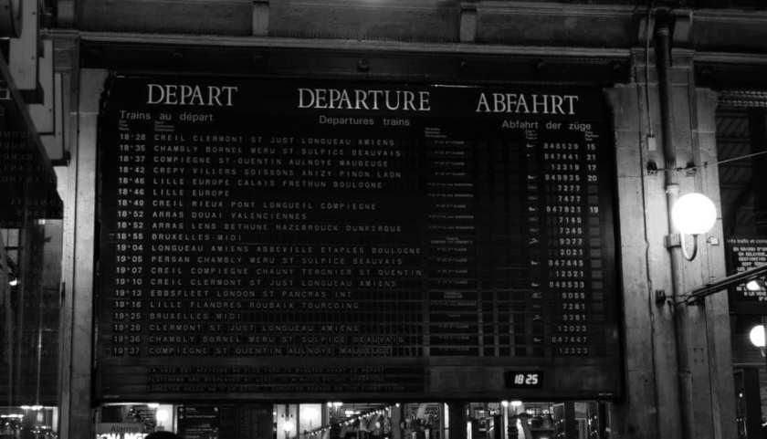 Eurail europe train travel