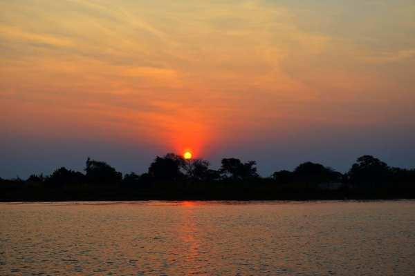 Namibia sunset