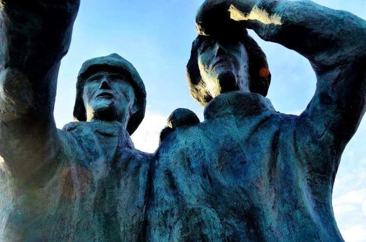 Reykjavik Iceland statue