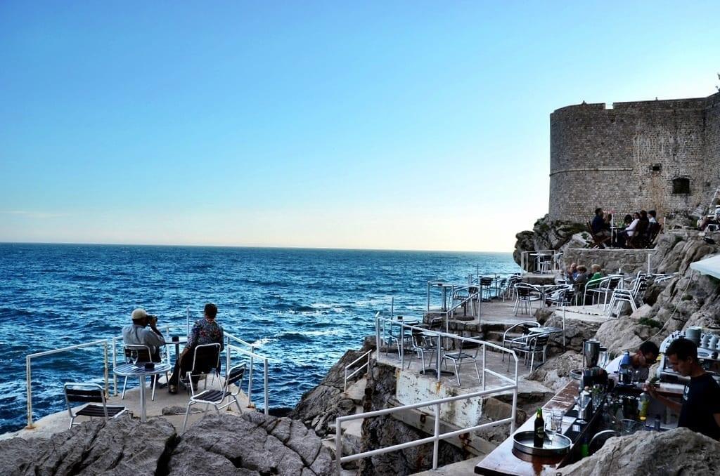 Cafe Buza Dubrovnik Croatia