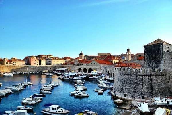 Dubrovnik Old Port Croatia