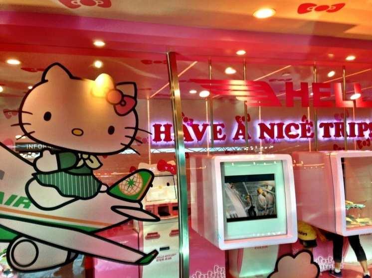 Hello Kitty EVA Air Taipei