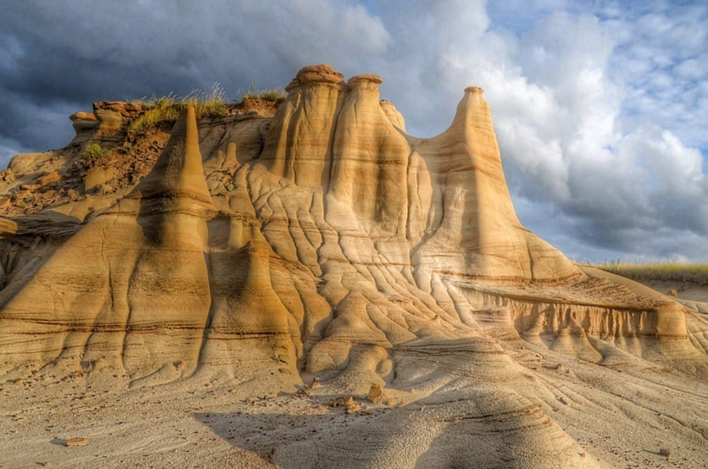 Alberta Badlands Sunset