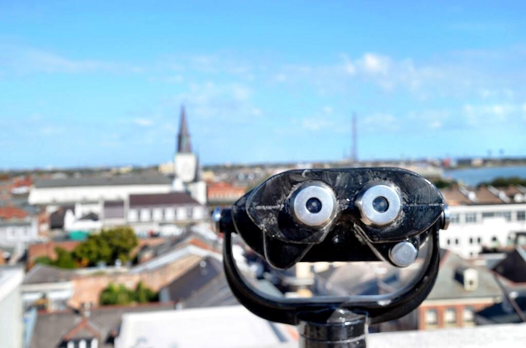 New Orleans binoculars