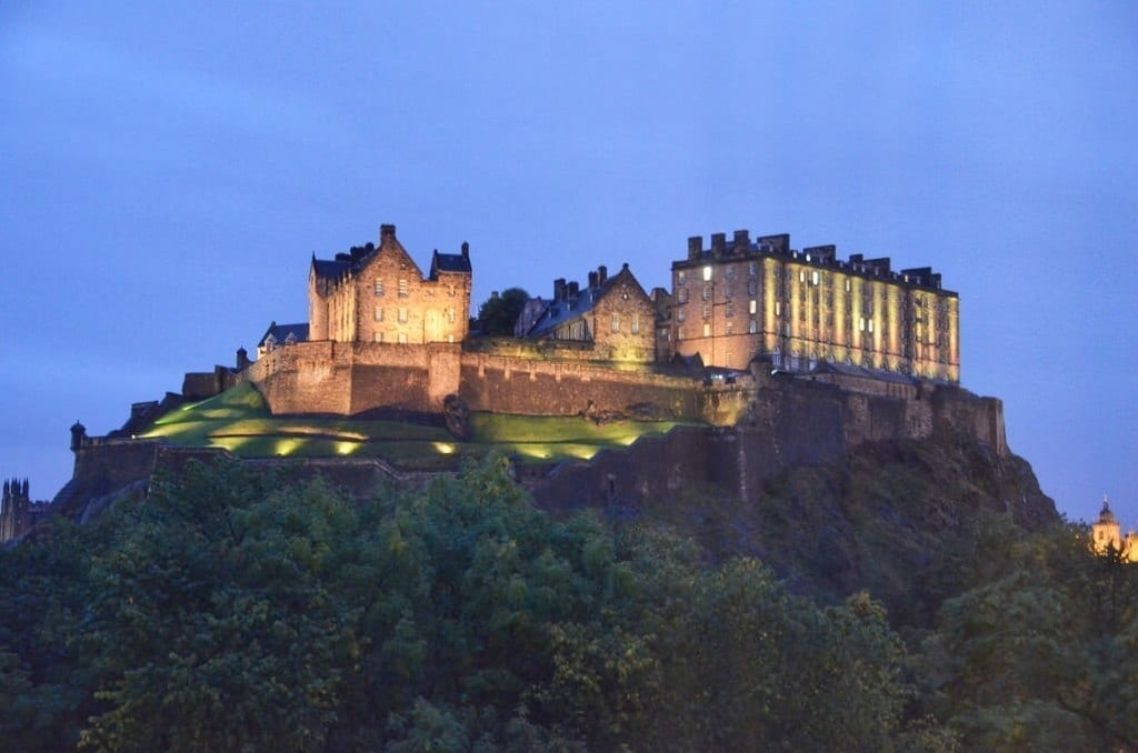 Edinburgh Castle Scotland UK