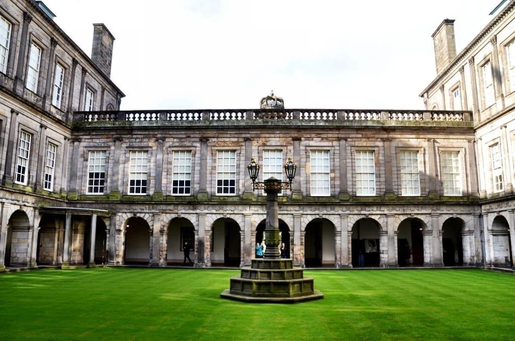 Holyrood Palace Scotland UK