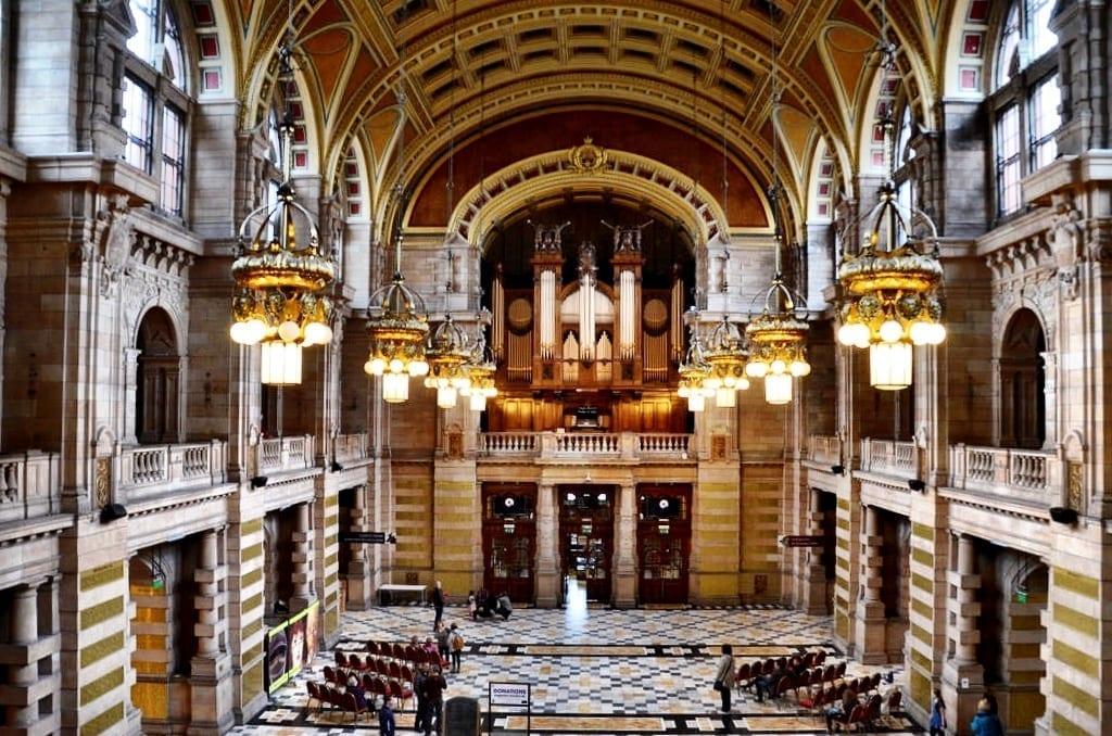 Kelvingrove Museum Glasgow Scotland UK