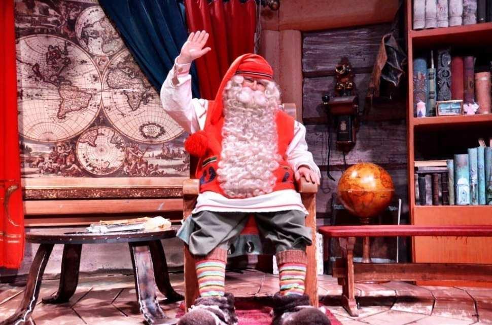 Santa Claus Rovaniemi Lapland Finland