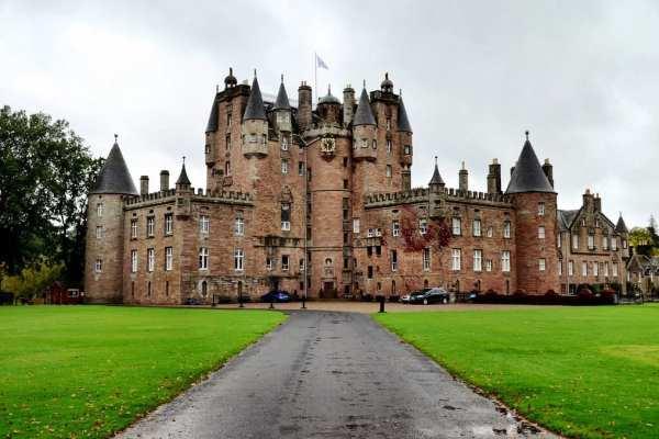 Glamis Castle Scotland UK