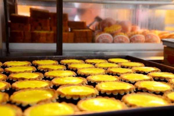Egg tart Kennedy Town Hong Kong