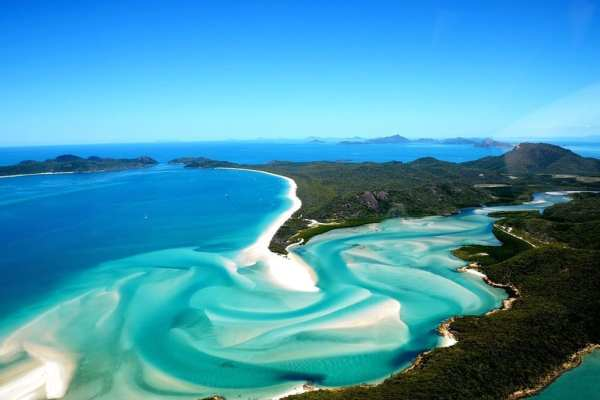 Hill Inlet Whitsundays Queensland Australia