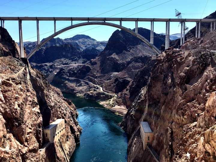 Mike O'Callaghan–Pat Tillman Memorial Bridge Nevada Arizona