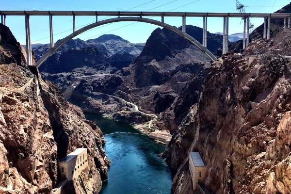 Mike O'Callaghan–Pat Tillman Memorial Bridge Nevada Arizona