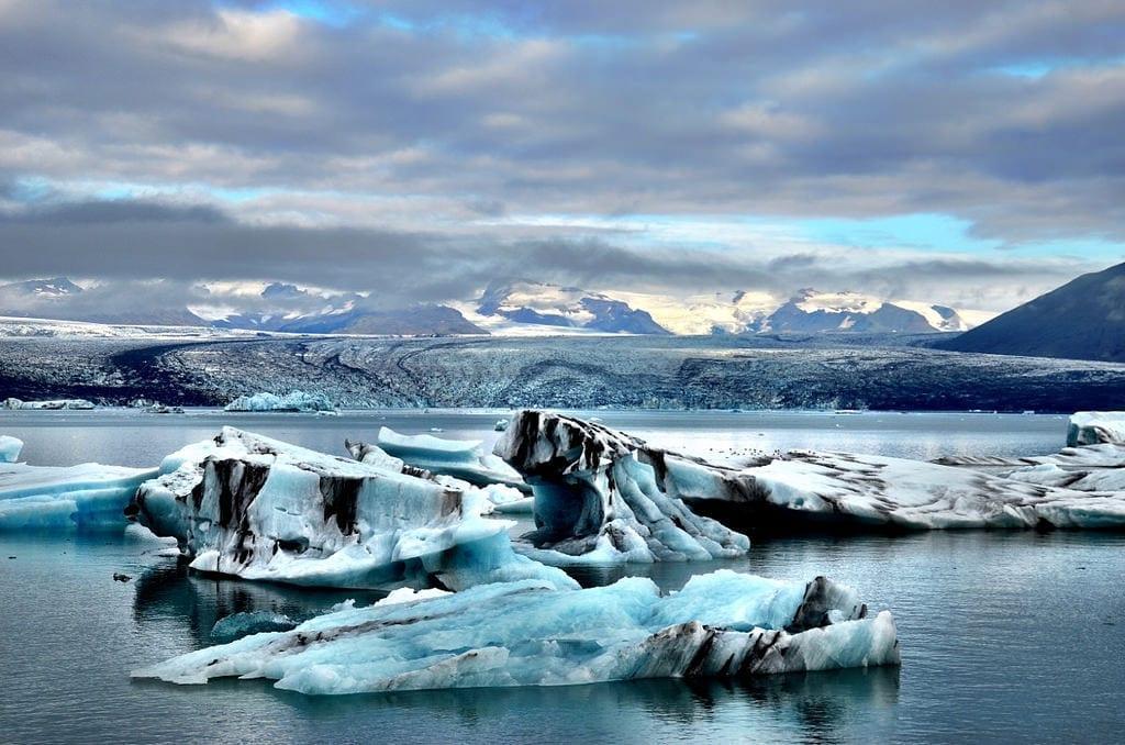 Jokulsarlon Glacier Lagoon in Iceland