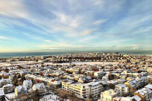 Reykjavik Iceland View