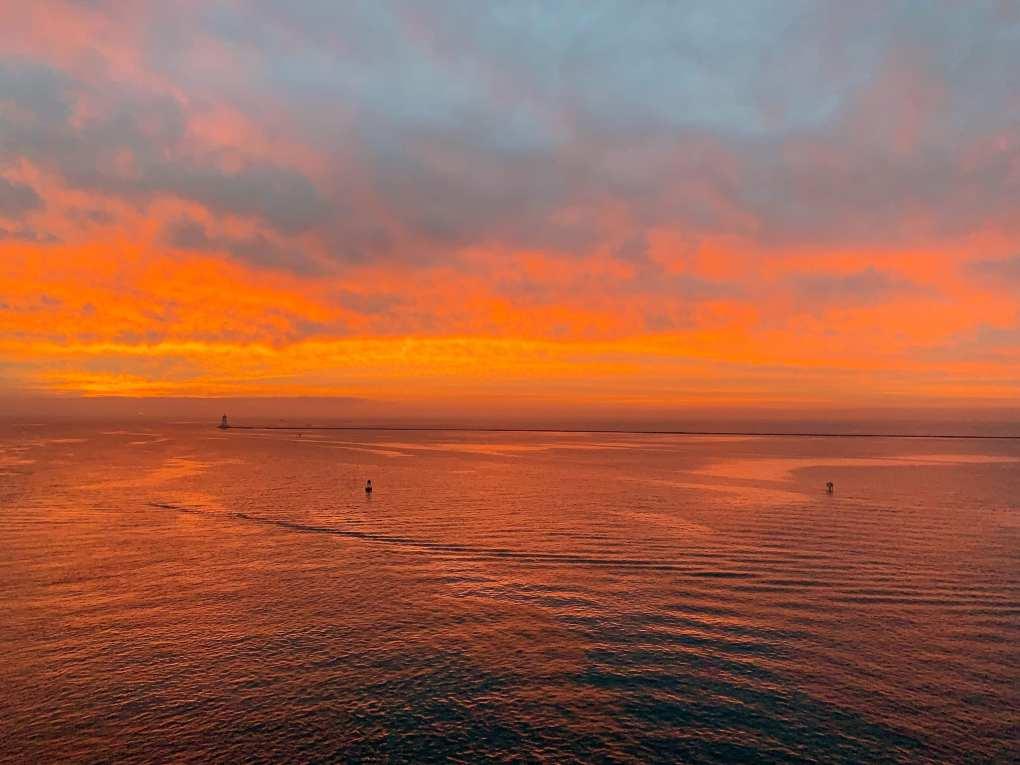 Crystal Cruise Sunrise California