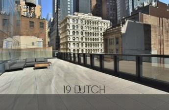 screenshot of rental apartment balcony in city