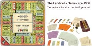 gambar papan permainan The Landlord's Game 1906