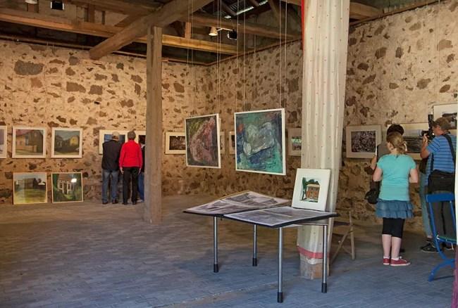 Ausstellung in der Kulturscheune