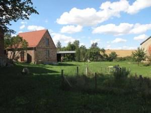 Haus und Himmel in der Uckermark